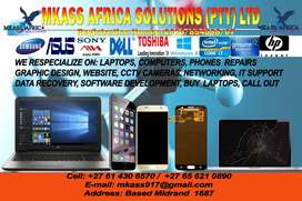Mkass Africa Solutions we can assist on IT support