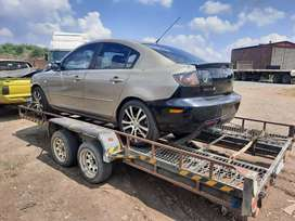 Mazda 3..1.6 stripping for spares and body accessories