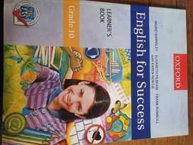 English For Success Grade 10 Learners Book-OXFORD