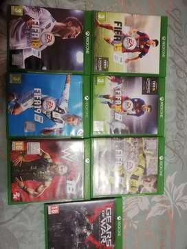 Hi i would like to sell my xboxe one games