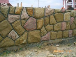 огорожа паркан камін мангал забор барбекю цоколь будинк сходи з каменю