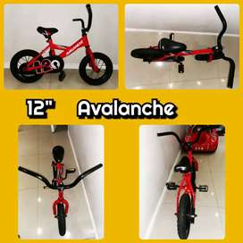 """Good used original 12"""" Avalanche bicycle selling 4 R499."""