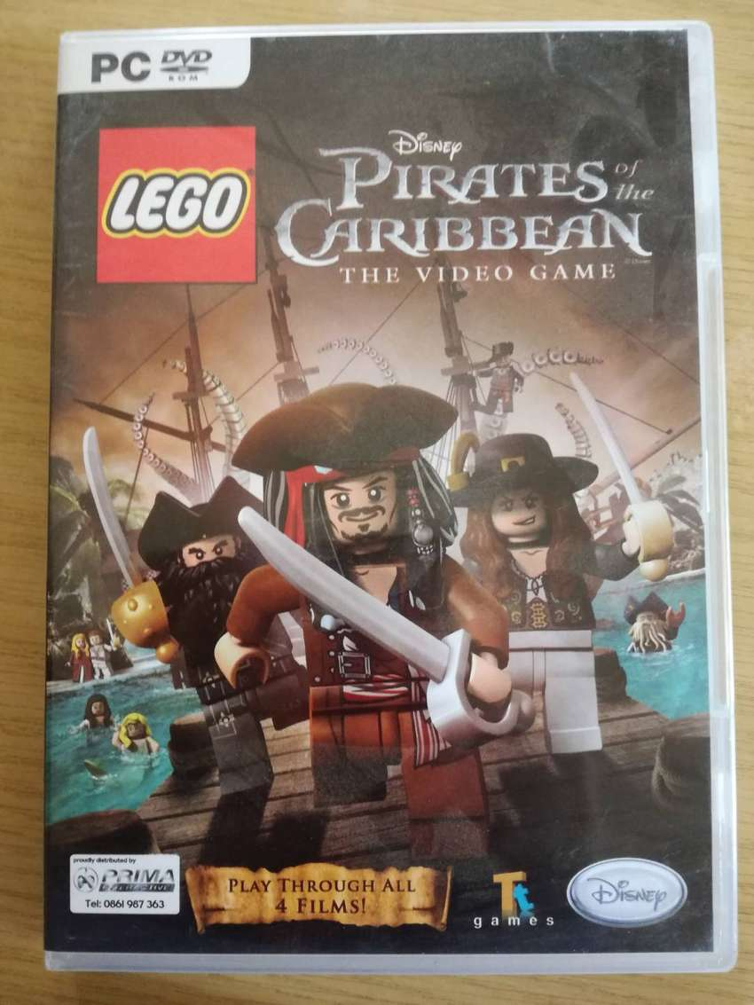 PC DVD ROM LEGO Disney Pirates of the Caribbean - The Video Game 0