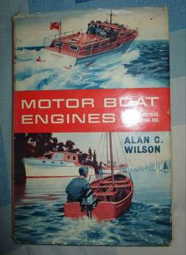 Boat Engines book 1962