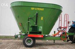 Wóz paszowy PRONAR VMP 10 - VMP 10S - 4 t/ 10 m³