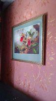 Продам картину вышитую бисером Каттлеи