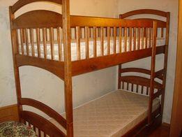 Кровать Карина с ящиками и матрасами