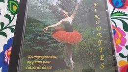 Płyta CD z muzyką do ćwiczeń baletu/tańca klasycznego. poszukiwana !!!