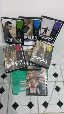 Highlander complete series for sale