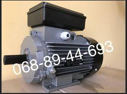 Электродвигатель, трехфазный, однофазный, електродвигун, 3,0 кВт