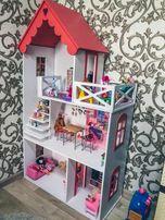 Крашеный домик!Дом для Барби,Винкс,МонстерХай,Эвер!