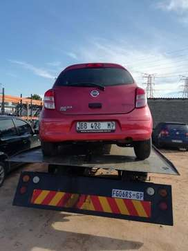 Nissan micra 2015 model ready for stripping @ sheeraz auto spares