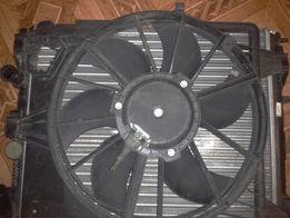 В сборе: вентилятор радиатора,диффузор,радиатор Renault, Dacia. Обмен.