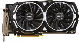 Видеокарта GeForce MSI ARMOR OC GTX 1060 3GB