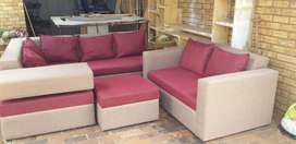4 piece corner lounge suite