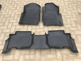FORD EVEREST MAT KIT 3 PIECES RUBBER STRONG