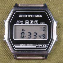 Часы ЭЛЕКТРОНИКА ЧН-55 с ЦНХ 5 мелодий