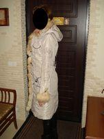 Зимнее пальто Польша (отделка мех енота)
