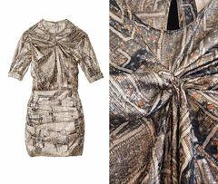 ISABEL MARANT dla h&m 34 xs sukienka z jedwabiu elegancka nowa z metką