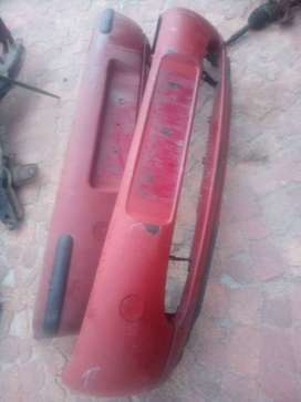 1999 MAZDA 121 SOHO FRONT AND REAR BUMPERS