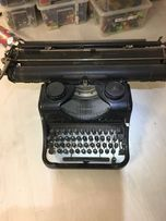 Stara maszyna do pisania Rheinmetal