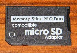 Адаптер MicroSD to Memory Stick Pro Duo