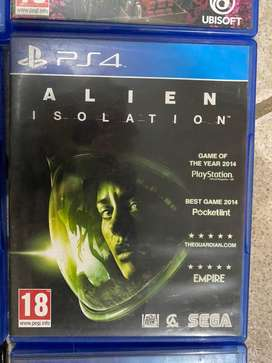 Ps4 game - Alien isolation