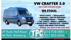 VW Crafter 2.0 New and Used Taxi Spares