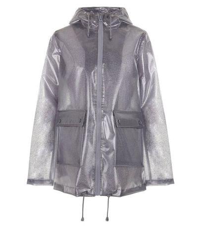 Дождевик худи анорак прозрачный с блестками. one size Одесса - изображение 1