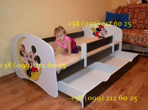 Детская кровать! Съемный защитный бортик! Бесплатная доставка! Одесса - изображение 1
