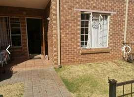 Ground floor,2bedroom, 1 bathroom apartment rental, secure place