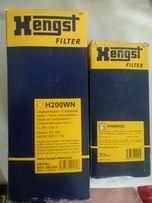 Фильтр топливный и масляный HENGST H18WK03, H200WN