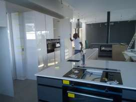 Granite and marble kitchen installation