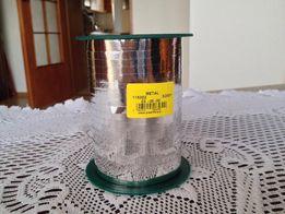 Wstążka metalizowana SREBRNA 5 mm 225 m do balonów