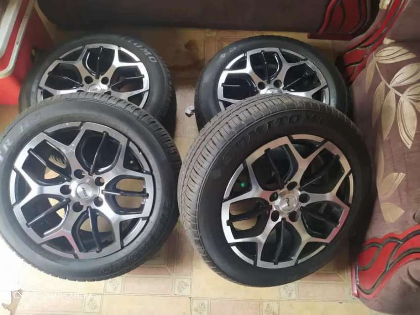 """Used 15"""" tsw rims with tyres 0"""