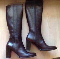 Итальянские кожаные сапоги р.9,5 американский (26 - 26,5см по стельке)