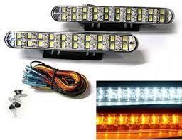 światła do jazdy dziennej LED + kirunkowskazy 30 LED Nowe