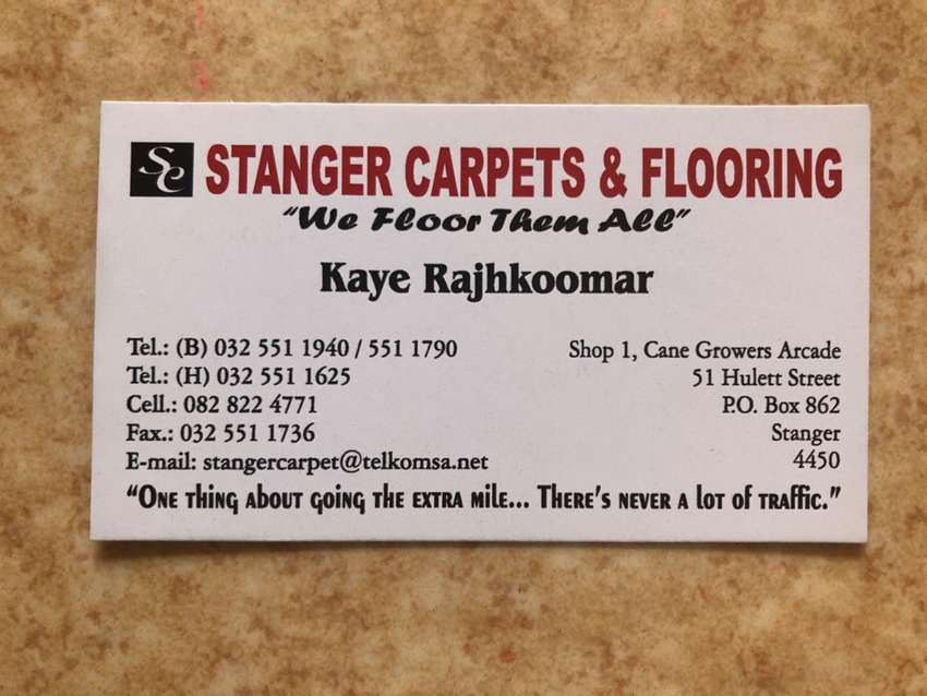 Carpet and flooring business 0
