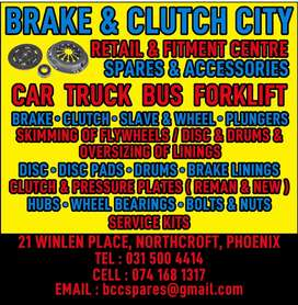 Parts for cars/trucks/buses & forifts