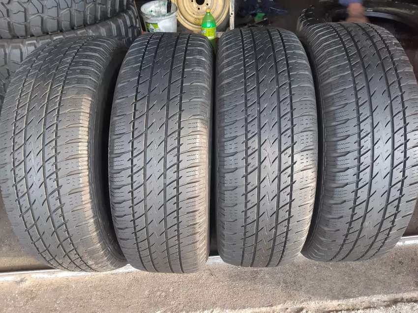 A set of 235/70/16 tyres fit on gwm and other cars 0