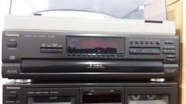 Technics cd player and tape