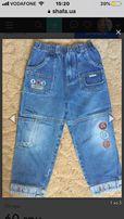 Отличные джинсы для мальчика рост 116