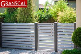 Ogrodzenie metalowe nowoczesne aluminiowe płot furtka brama Poznań