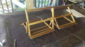 Adjustable table painting easel
