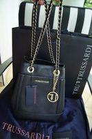 Tru Trusardi wloska torebka worek logo Prada Gucci Louis Vuitton