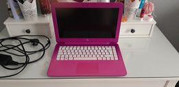Laptop HP różowy