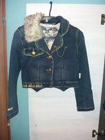 Marynarka,ramoneska, WÓJCIK,kurtka,żakiet dla dziewczynki r.146 yeans.