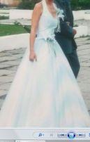 Свадебное или выпускное платье в пол