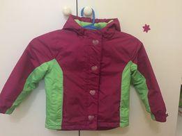 Куртка лыжная на девочку 3-4 года