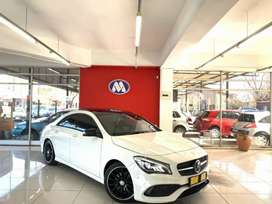 MERCEDES CLA 200 AMG LINE FACE LIFT A/T